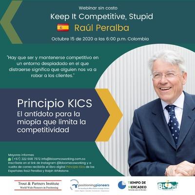 """Invitación para empresarios, emprendedores y mercadólogos a nuestro webinar sin costo """"Keep It Competitive, Stupid"""""""